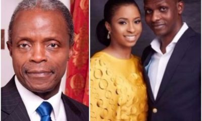 VP Osinbajo Insists On 'Strictly Private Wedding' For His Daughter
