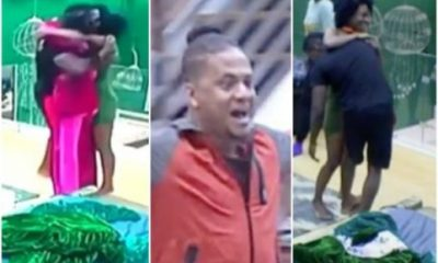 BBNaija: Watch Housemates Reactions When They Saw Anto And Khloe This Morning