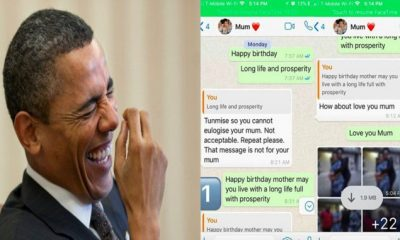Funny Conversation Between A Mother And Her Son On Her Birthday