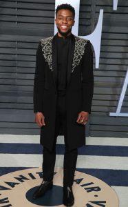 Chadwick Boseman in customer Givenchy