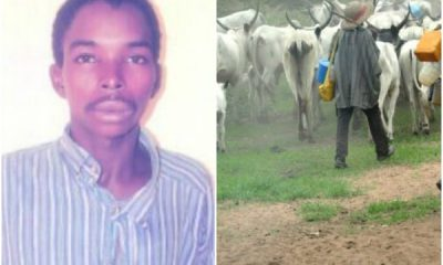 Herdsman Kills His Brother Over Missing Cow