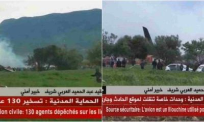 200 People Dead As Military Plane Crashes In Algeria