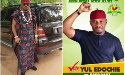 2019 elections: Yul Edochie Declares He's Running For Presidency