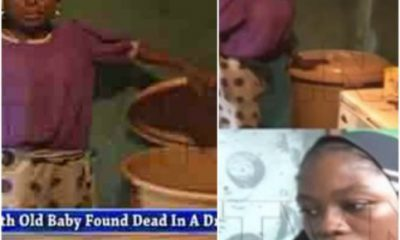 8-Month-Old Baby Found Dead Inside A Water Drum In Benin