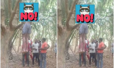 Man Hangs Himself In Abuja (Graphic Photos)