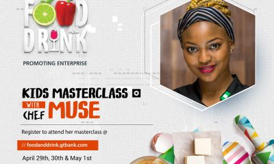 Chef instructor, Muneera Tahir (Chef Muse) will be at the 2018 GTBank Food and Drink Fair to help groom the chefs of the future. With a strong passion for cooking that started in her grandmother's kitchen, Chef Muse's went on to complete a Diploma in Cuisine and Patisserie at Red Dish Chronicles (RDC) in 2016. After completing her Diploma at RDC, Chef Muse got an internship at L'italiano Restaurant, London and rose rapidly to the position of Head Chef of L'Italiano Restaurant where she worked until September of 2017. Thereafter she returned to her Alma Mater, RDC, as a Chef Instructor. Since returning to RDC, Chef Muse has been training budding chefs and continues to undertake several exciting culinary projects in her capacity as an Executive Sous Chef. If you would like your kids (between the ages of 5-13) to attend Chef Muse's masterclass at the GTBank Food and Drink Fair on Monday. 30th April, click here to register.