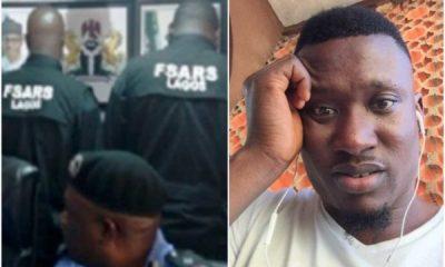 Drama As Bribe-Seeking SARS Officers Keep Lagos Businessman In Toilet
