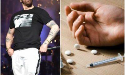 Eminem Celebrates 10 Years Of Being Sober After Drug Addiction