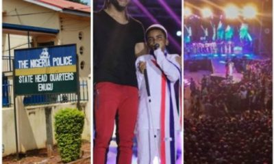 Enugu State Police Command Reacts To Allegations Of Rape At Flavour's Concert
