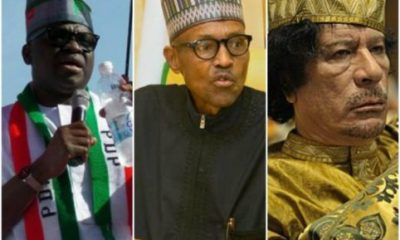 Fayose, PDP Blast President Buhari For Blaming Gaddafi Over Herdsmen Attacks