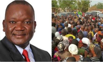 Go home and defend yourselves with stones – Ortom tells IDPs