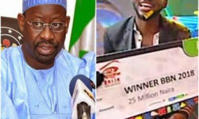 BBNaija: Now That The Reality Show Is Over' – Governor Dankwambo Speaks