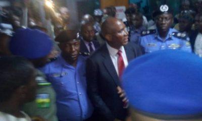 BREAKING: Police Arrest Senator Omo-Agege For Alleged Theft Of Senate Mace