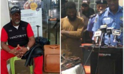 SARS Detains Senator Dino Melaye In Abuja