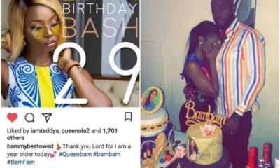 BBNaija: Teddy-A Throws BamBam Surprise Birthday Party