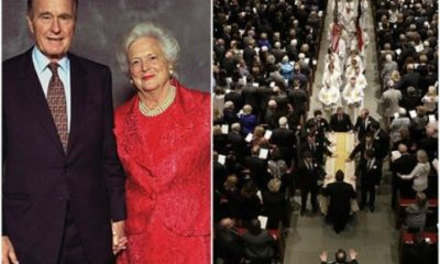 U.S former First Lady Barbara Bush Has Been Laid To Rest