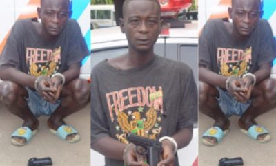We Rob Stranded Motorists With Toy Gun – Robbery Suspect