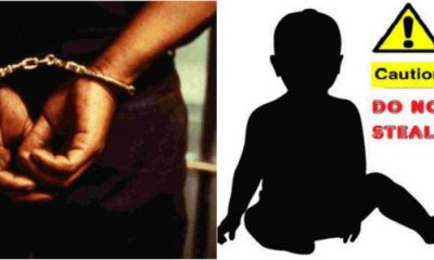 Woman Caught Attempting To Kidnap A Baby In Benue