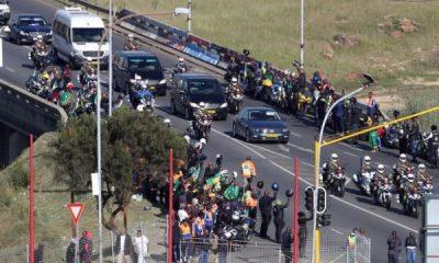 Winne Mandela Buried: See Photos From Winnie Mandela's Funeral