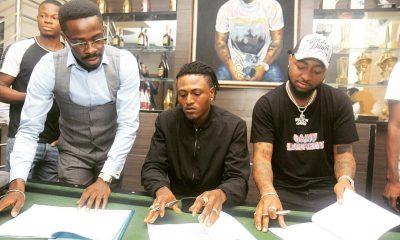 Davido Signs Shaku Shaku Star, Idowest To DMW