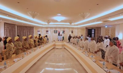 Buhari hosts Wives of Governors, pledges Support