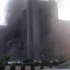 Fire Outbreak At CBN Headquarters Abuja