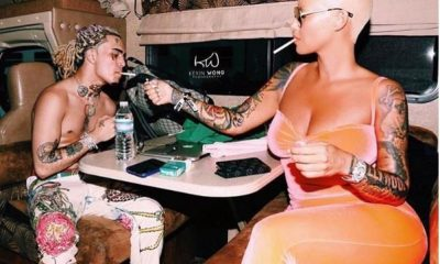 Amber Rose, 34, Sparks Dating Rumours After Being Spotted With 17-Year-Old Rapper Lil Pump