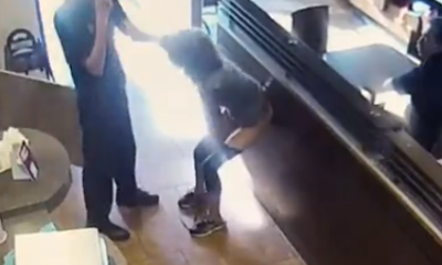 Angry Customer Poos Inside Tim Hortons Fast Food Restaurant And Throws It At Employee (Viral Video)