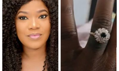 Actress Toyin Abraham Is Engaged!
