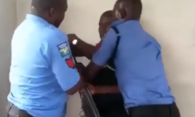 Video: Police Officers Struggle To Disarm NSCDC Official In Akwa Ibom