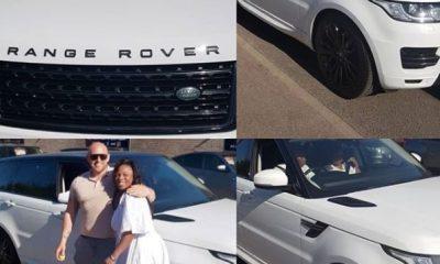 Photos: Prophetess Olubori acquires brand new €60,990 Range Rover SUV in London