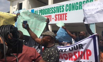 Police Seal Off APC Headquarters In Ekiti