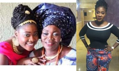 """Popular Nollywood actress, Mercy Johnson, has lost her mom, Mrs Elizabeth Johnson. Breaking Mercy Johnson Loses Mom According to reports, the mom died this morning after some days in coma at the hospital due to an undisclosed ailment. Mercy Johnson made this known on her Instagram account where she pleaded for privacy as well as prayers from her fans. She wrote; """"It deeply saddens me to say that my beloved mother is gone. This is a trying time for my family and we would appreciate your prayers, even as we plead for our privacy at this time. Thank you"""""""