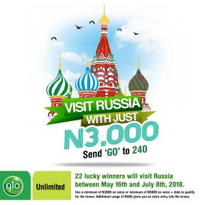 Glo Excites Subscribers With Go Russia Offer