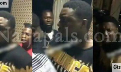 Video Of Rapper, CDQ Fighting After His Chain Was Snatched At A Hotel In Ado Ekiti