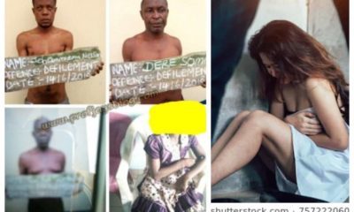 Four men arrested for defiling 8-yr-old hawker in Rivers Stat