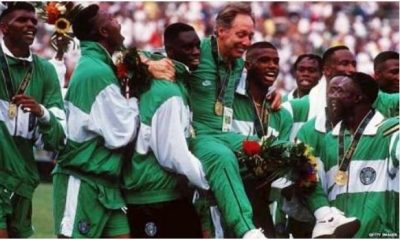 22-Years Later, Federal Govt To Deliver Housing Project To Former Super Eagles Coach Bonfrere Jo For Winning The Olympics In 1996