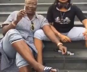 Nigerian Women Fight, Tear Their Clothes At Stratford London (Videos)