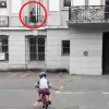 """Ghost Of Elderly Woman"" Seen Watching Over Five-Year-Old Boy From Mansion Window As He Learns To Ride Bike"