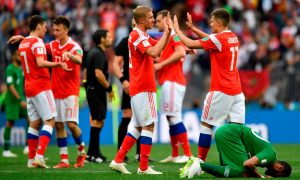 Russia Thrashes Saudi Arabia 5-0 In 2018 World Cup Opener