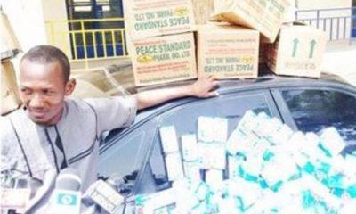 Fake Pharmacist Arrested With 300 Bottles Of Codeine In Katsina State