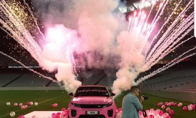Photos/Video: Fitness Trainer Proposes To His Woman With A Customised Range Rover