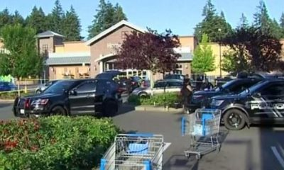 Two People Injured As Armed Shopper Kills A Suspected Carjacker Who Opened Fire At A Busy Walmart Store In Washington