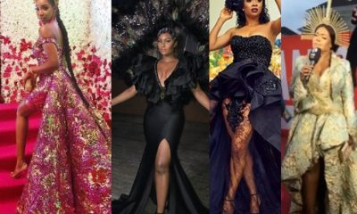 Photos: Omoni Oboli, Waje, Lilian Afegbai, Kate Henshaw, Others Step Out Daring Outfits For The MET Gala Themed Ocean's 8 Premiere In Lagos
