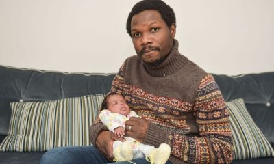 Nigerian man's wife died suddenly while she was six months pregnanct but doctors miraculously delivered their baby alive (photos)