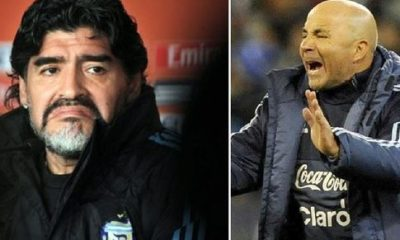 'Don't Return Home If You Lose To Nigeria' - Maradona Warns Argentina Coach