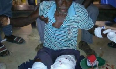 Graphic: Two Young Men Killed, Several Others Injured As Police And Villagers Clash During Anti-Polution Protest In Gambia