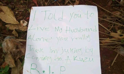 Alleged Sidechic Murdered In Anambra State By Her Sugar Daddy's Wife (graphic photos)