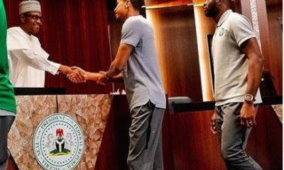 """""""With Determination, Nothing Is Impossible"""" - President Buhari Congratulates Super Eagles For Defeating Iceland"""