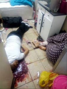 South African Man Kills Wife For Infidelity, Commits Suicide (Graphic Photos)